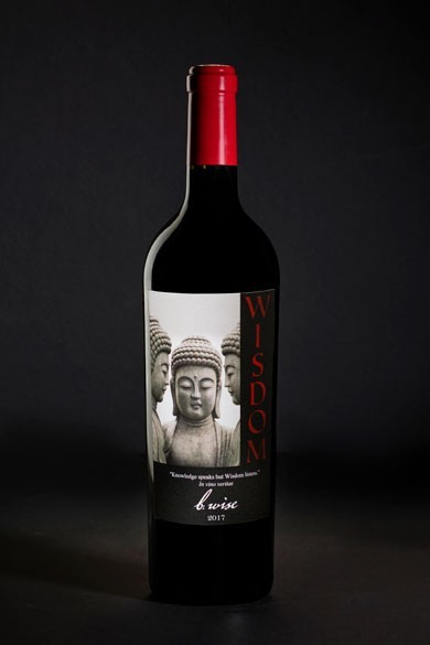Magnum, Wisdom, Red Blend, Moon Mountain District, 2017