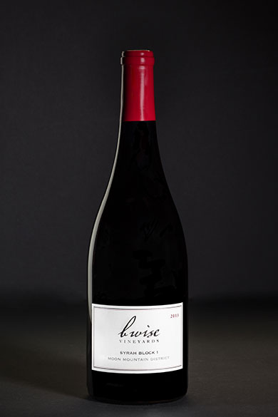 Syrah Block 1, Moon Mountain District, Estate Grown, 2013