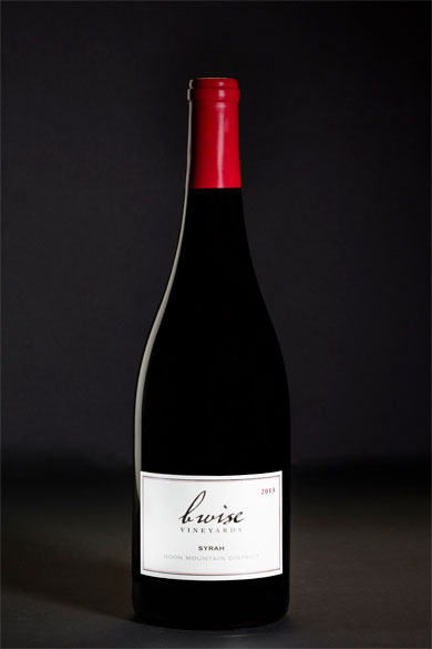 Syrah, Moon Mountain District, Estate Grown, 2013