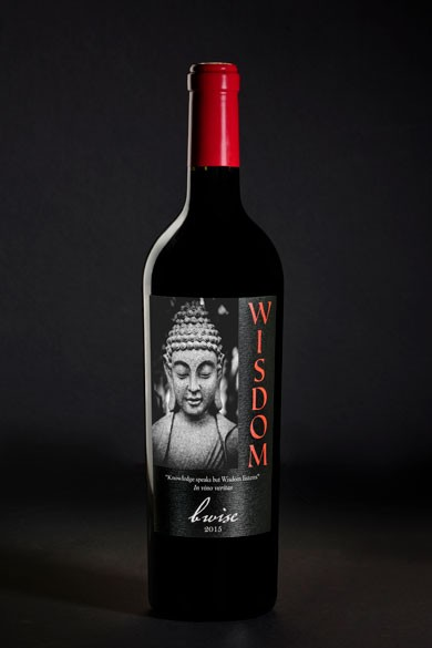 Wisdom, Red Blend, Moon Mountain District, 2015